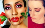 VALENTINE MAKEUP LOOK STAFF COMPETITION!